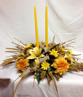 Autumn Silk Centerpiece from Chillicothe Floral, local florist in Chillicothe, OH
