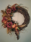 Autumn Wreath from Chillicothe Floral, local florist in Chillicothe, OH
