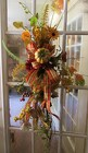 Permanent Botanical Door Hanging, Autumn from Chillicothe Floral, local florist in Chillicothe, OH