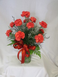 Dozen Carnations from Chillicothe Floral, local florist in Chillicothe, OH