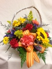 Garden Basket from Chillicothe Floral, local florist in Chillicothe, OH