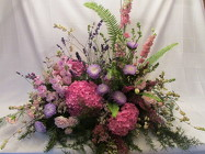 Garden Style Casket Spray from Chillicothe Floral, local florist in Chillicothe, OH