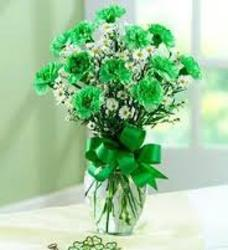 Green Carnations
