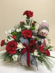 Happy Snowman from Chillicothe Floral, local florist in Chillicothe, OH