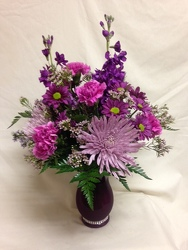 Positivley Purple from Chillicothe Floral, local florist in Chillicothe, OH