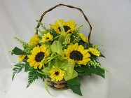 Summer Sunshine Basket from Chillicothe Floral, local florist in Chillicothe, OH