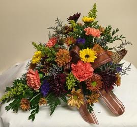 Cornucopia from Chillicothe Floral, local florist in Chillicothe, OH
