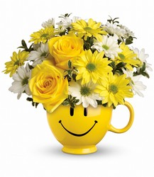 Smiley Face Mug from Chillicothe Floral, local florist in Chillicothe, OH
